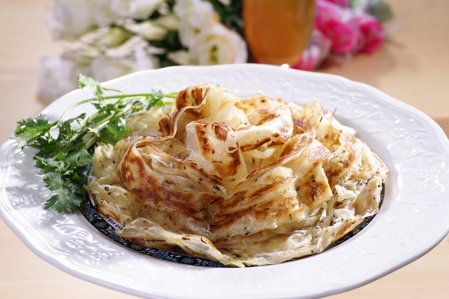 香椿抓餅(素食)